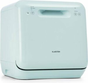 Aquatica afwasmachine vrijstaand 2 couverts 860W EEC A groen