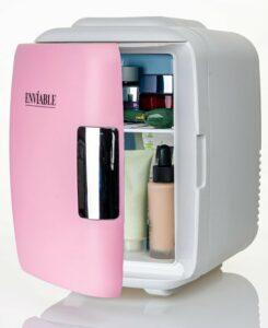 Enviable Skincare Fridge voor Beauty en Cosmetica Producten – Mini Make-up Koelkast met Handvat – Compact – 4 Liter