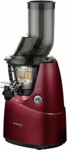 Kuvings Big Mouth B6000 - Slowjuicer - Wijn Rood