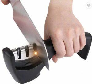 Messenslijper - Zwart - Anti slip - Professioneel slijper - 3 Standen - Ergonomisch