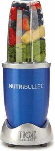 NutriBullet - 5-delig - 600 Watt - Blender - Blauw