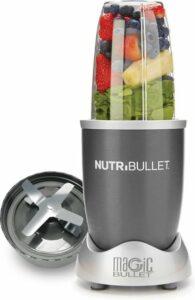 NutriBullet - 5-delig - 600 Watt - Blender - Grijs