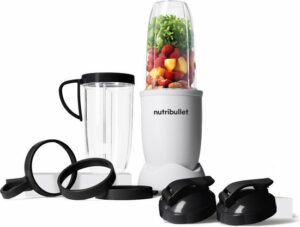 NutriBullet Exclusive - 10-delig - 900 Watt - Wit