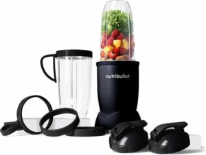 NutriBullet Exclusive - Blender -10-delig - 900 Watt- Zwart