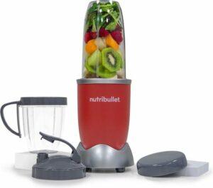 NutriBullet Pro - 9-delig - 900 Watt - Blender - Rood