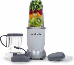 NutriBullet Pro - 9-delig - 900 Watt - Blender - Wit