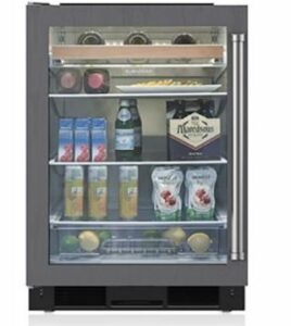 Sub Zero Beverage Center UC-24BG