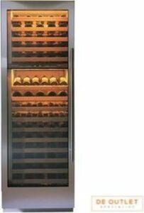 Sub-Zero-Wolf RVS wijnklimaatkast 132 flessen ICB427G-RH