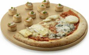 Barbecook – Pizzasteen – Rond – Voor Barbecue – Creme – ɸ 36 cm