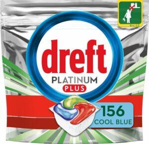 Dreft Platinum Plus All In One Cool Blue