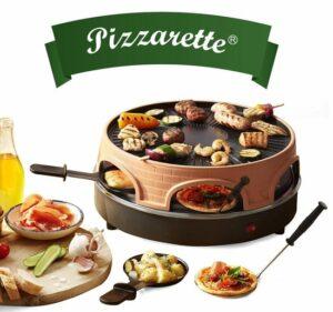 Emerio 3-in-1 - Pizzarette - 6 personen