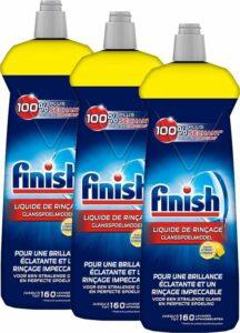 Finish Glansspoelmiddel Citroen Vaatwasmiddel - 3x 160 Afwasbeurten - 3x 800 mL - Voordeelverpakking