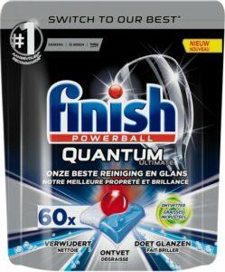Finish Quantum Ultimate Ontvetter Vaatwastabletten - 60 Tabs