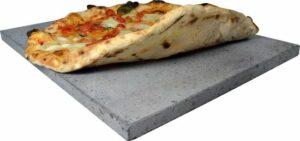 Foodiletto Pizzasteen - 38x30,5 cm - bbq - barbecue - oven - gas - elektrisch - 100% natuurlijk materiaal - cadeau voor man