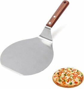 Pizzaschep voor BBQ of Oven - ø16,5cm diameter - RVS