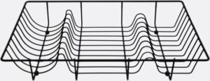 Point-Virgule Wire afdruiprek - zwart
