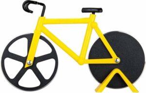 YONO Pizzasnijder Fiets - Pizza Cutter Bike Racefiets – Geel