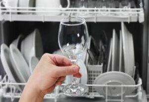 doffe glazen vaatwasser
