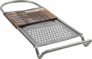 Kitchen Tools - Rasp - RVS - Zilver - 3 functies - Handrasp - Kaasrasp