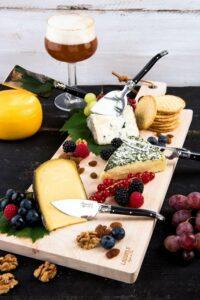 Laguiole Style de Vie Kaasmessenset Premium Line - 8-delig - met plank