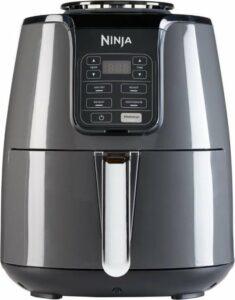 Ninja AF100EU - Multifunctionele AirFryer XL Hetelucht Friteuse 3,8 liter - Grijs-Zwart