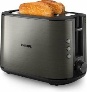 Philips Viva HD2650-80 - Broodrooster - Titanium