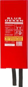Technosafety Blusdeken - 180 x 180 cm - Branddeken - In box