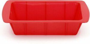 Bakvorm – Siliconen – Rechthoekig - Rood
