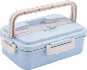 Bento Lunchbox gemaakt van bioplastic - Bento box met 3 compartimenten