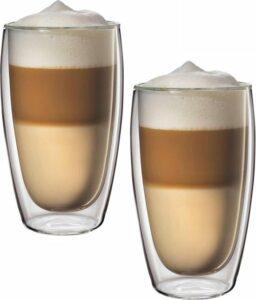 Glazen dubbelwandig Cappuccino - Latte Machiato 450ml - Set van 2 stuks