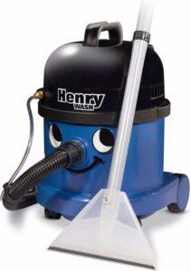 Numatic Henry Wash HVW370-2 - Sproei-extractiemachine - Blauw