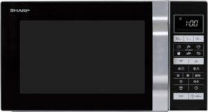 Sharp R860S - Combi-Microgolfoven - vrijstaand - zilver