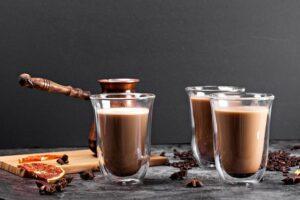 cappuccino glazen