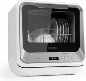 Klarstein Amazonia - mini-afwasmachine - Zilver